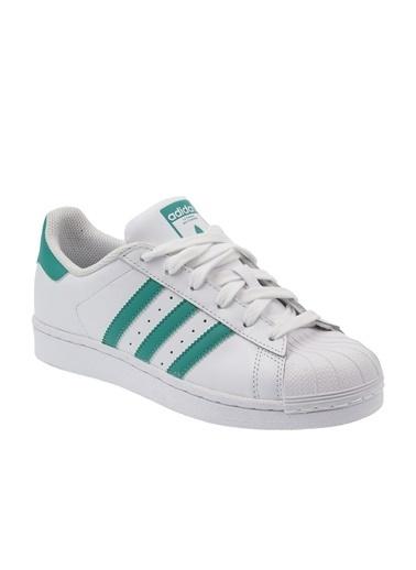 adidas Unisex Superstar Sneakers 236863 Beyaz